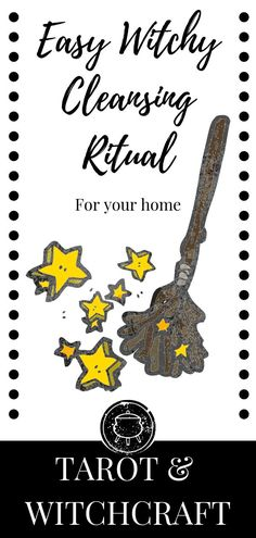 Need a Wiccan cleansing ritual? This one includes some cleaning, decluttering, mixed with some good old fashioned witchcraft. Witchcraft for Beginners. Spells For Beginners, Tarot Cards For Beginners, Witchcraft For Beginners, Wicca Witchcraft, Wiccan, Magick, Healing Spells, Magic Spells, Quotes Pink