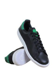 Bb0009 Men Stan Smith Adidas Black Green