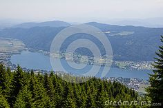 #View To #Lake #Ossiach From #Gerlitzen @dreamstime #dreamstime #ktr15 @carinzia #nature #landscape #travel #carinthia #austria #sightseeing #holidays #summer #season #spring #outdoor #hiking #leisure #mountains #stock #photo #portfolio #download #hires #royaltyfree