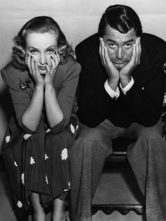 Carole Lombard and Cary Grant in a publicity still for In Name Only (1939)