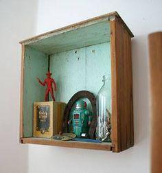 caja de madera reciclada decorar.19bis.com