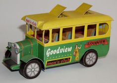 bus, men's club goodview