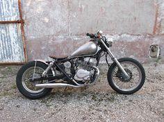 Vito's Motorcycle: Honda Rebel 125 Bobber