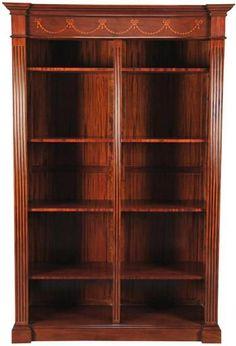 Bookcase Large Mahogany New NG-245