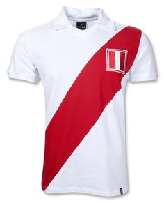 Peru Home '70s Retro Soccer Jersey  $59.99