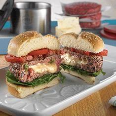 Salsa Burgers   Princess House #Summer #Grilling #Weekend