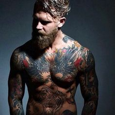 Tattooed Upper body