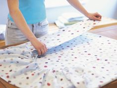 How to Fold a Fitted Sheet --> because ive always wondered!!! www.hgtv.com/homekeeping/how-to-fold-a-fitted-sheet/index.html?soc=pinterest