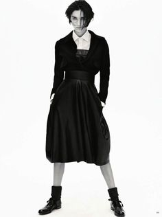 Janice Alida by Daniel Jackson for Vogue Germany November 2013 2