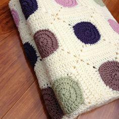 ON SALE Hand Crocheted Blanket Pure Australian by BuFairTrade