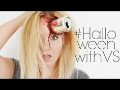 Dose im Kopf | Halloween Make Up | #HalloweenWithVS - YouTube