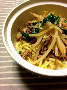 ラー油はお好みで…^^ - 8件のもぐもぐ - 汁なし担々麺 by mikoma
