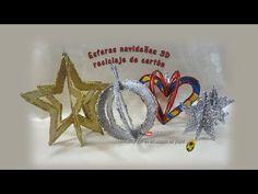 Reno navideño, reciclaje de papel periódico - Christmas deer, recycling of newspaper - YouTube