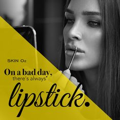 The perfect solution to a bad day. #lipstick
