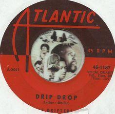 THE DRIFTERS Drip Drop GROUP DOO WOP SOUL R&B 45 RPM RECORD