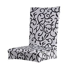 Cubierta Funda Protectora Extraíble Estirable para Silla Taburete de Comedor (gris) Picnic Table Covers, Banquet Seating, Seat Covers For Chairs, Stool Chair, Furniture Upholstery, Diy Furniture, Deco Mesh Wreaths, Dining Room Chairs, Slipcovers