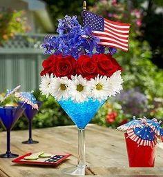 July 4th   Floral Arrangement