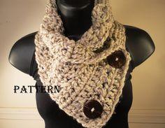 scarf cowl, crochet scarf patterns, buttons, scarves, crochet patterns, design, neck warmer, crochet cowls, crochet scarfs