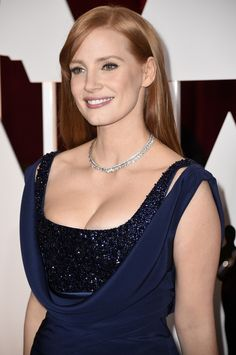 Jessica Chastain attends the 87th Annual Academy Awards at Hollywood & Highland Center on February 22, 2015 in Hollywood, California.