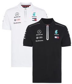 56206a4b9 cool Awesome Mercedes AMG Petronas Tommy 2018 Men's F1 Team Polo Shirt FREE  SHIPPING 2017/