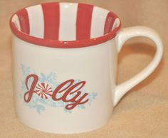 Starbucks Holiday 2007 Jolly Winter 14 oz Coffee Mug Snow Scene Mint Cond $30