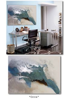 Tanja De Beer: Abstract Art Can be custom made