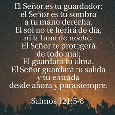 Salmos 121:5-8
