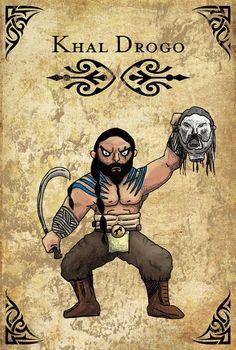Khal Drogo - The King of the Dothraki