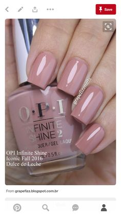opi nail polish Grape Fizz Nails Plus opi nail polish Opi Nails, Nude Nails, Acrylic Nails, Blush Nails, Shellac Toes, Matte Nails, Stiletto Nails, Colorful Nail Designs, Nail Art Designs