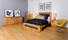 Marri timber 	All draws employ double extension runners 	Three year warranty 	Features an in-built bed box at the end of the bed.