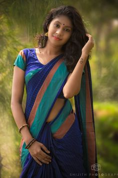 Image may contain: 1 person, standing and outdoor Beautiful Girl In India, Most Beautiful Indian Actress, Beautiful Girl Image, Beautiful Saree, Beautiful Asian Girls, Wedding Couple Poses Photography, Girl Photography, Indian Wedding Poses, South Indian Actress Hot