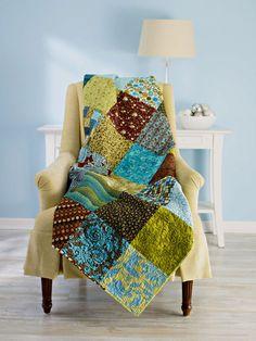 easy block quilt