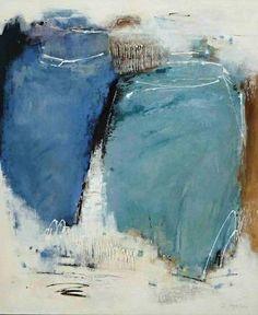 """Renate Migas, """"Farbentanz"""" (8) Mit einem Klick auf """"Als Kunstkarte versenden"""" versenden Sie kostenlos dieses Werk Ihren Freunden und Bekannten."""