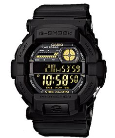 da0bf346221 Welcome friends Product description G-SHOCK Men s GD 350 Watch. The G-SHOCK  GD 350 Watch in Black A large digital display on a black face