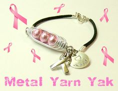 $20.00 Breast Cancer Awareness. Hand-stamped!