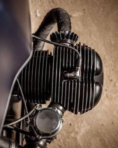 Unmistakable. The boxer. #macco #bmw #r90 #boxer #caferacer... #overbold #caferacer #motorcycle #bratstyle #bobber #custom #bcn #bikes #motorbike #bespoke #handmade #caferacer #overboldmotorco #tracker #streettracker #flattracker #honda #yamaha #suzuki #ossa #triumph #bmw #guzzi #motoporn #lifestyle #cafexxx #dirttrack #flattracker