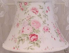 #Shabby #lampshade on EBAY  With # Wildflowers fabric