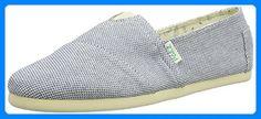 PAEZ Original Eva Panama Azul, Unisex-Erwachsene Espadrilles, Blau (White, Blue 0052), 37 EU - Espadrilles für frauen (*Partner-Link) Panama, Unisex, Espadrilles, Partner, Toms, Sneakers, Link, Shopping, Fashion