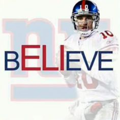 i believe in eli.