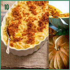 Butternut Squash Mac and Cheese | 12 healthy winter squash recipes | Healthy Seasonal Recipes @Katie Hrubec Webster