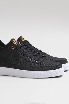 Nike Air Force 1 AC PRM QS (Black/Black): SHOP