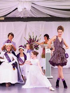 Purple Reign: ru_glamour — LiveJournal Marie Claire Australia, Purple Reign, Muted Colors, Feminine Style, Bond, Flower Girl Dresses, Glamour, Elegant, Wedding Dresses