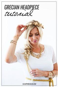 THE MODERN GIRLS HALLOWEEN WEEK: GRECIAN GODDESS COSTUME - Elle Apparel by Leanne Barlow
