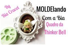 Quadro - Thinkerr Bell - Biscuit - MOLDElando com a Bia