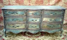 http://cgi.ebay.com/FRENCH-PROVINCIAL-ITALIAN-COTTAGE-DRESSER-FAUX-PAINTED-/390248600019