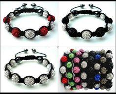 Pulseras Shamballa, las pulseras de moda del verano 2012