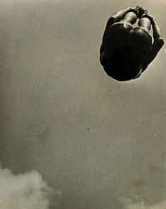 Aleksandr Rodchenko (Russian, Dive (Pryzhok v vodu) 1934 Gelatin silver print 11 x 9 x cm) The Museum of Modern Art, New York Thomas Walther Collection. Gift of Shirley C. Burden, by exchange Alexander Rodchenko, Russian Constructivism, Russian Avant Garde, Vision Photography, Modern Photographers, Gelatin Silver Print, Russian Art, Museum Of Modern Art, Photo Series