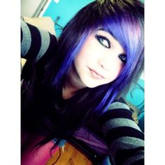 Scene Girl Fashion, Emo Fashion, Goth Hair, Emo Hair, Emo Scene Hair, Brown Scene Hair, Emo Bangs, Pelo Emo, Emo People