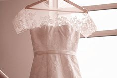 Long Fitted Lace Wedding Dress Bridal Gown with Lace by LAmei