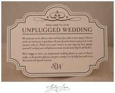 How to have an unplugged wedding by Julie Anne and Foglio Press Atlanta (3)